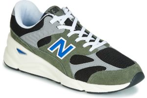 new balance x90 mens green green trainers mens
