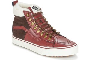 vans-sk8-hi 46 mte dx (high-top trainers) in-womens-red-3dq5qwj-red-sneakers-womens