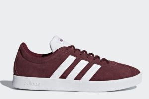 adidas-vl court 2.0-mens-burgundy-DA9855-burgundy-trainers-mens