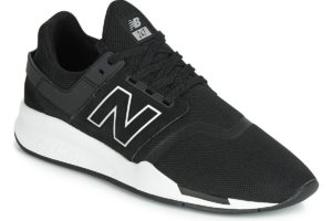 new balance 247 mens black black trainers mens