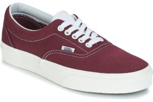 vans-era (trainers) in-womens-red-vn0a38fru8m1-red-sneakers-womens