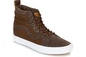 vans-sk8-hi mte (high-top trainers) in-womens-brown-33txoq0-brown-sneakers-womens