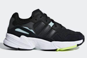Adidas Yung 96 Boys,girls Black Db2794 Black Trainers Boys,girls