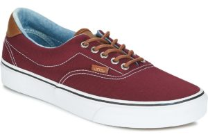 vans-era (trainers) in-mens-red-vn0a38fsqk51-red-sneakers-mens
