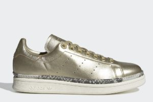 adidas-stan smith new bold-womens-gold-F34120-gold-trainers-womens