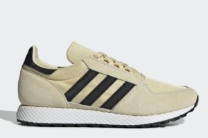 adidas-forest grove-womens-yellow-CG6137-yellow-trainers-womens