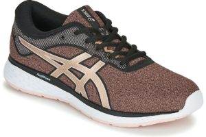 asics patriot womens black black trainers womens