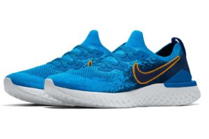 Nike Epic React Mens Blue Cj5288 994 Blue Trainers Mens
