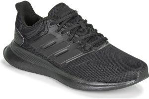 adidas runfalcon mens black black trainers mens