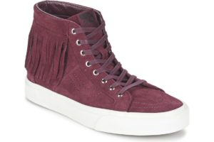vans-sk8-hi moc (high-top trainers) in-womens-red-315ju1-red-sneakers-womens