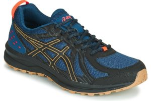 asics frequent trail mens blue blue trainers mens