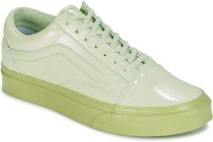 vans-old skool (trainers) in-womens-green-va38g1oyl-green-sneakers-womens