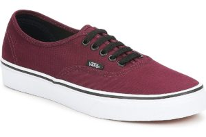 vans-authentic (trainers) in-womens-red-vn000qer5u81-red-sneakers-womens