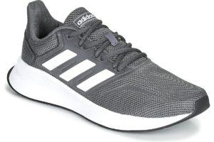 adidas runfalcon mens grey grey trainers mens