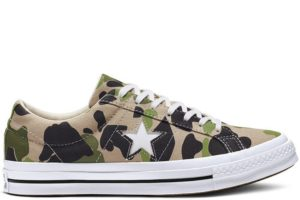 converse-one star-womens-green-165027C-green-sneakers-womens