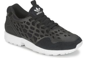 adidas zx flux womens black black trainers womens