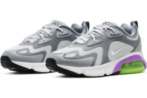 nike-air max 200-womens-silver-at6175-002-silver-trainers-womens