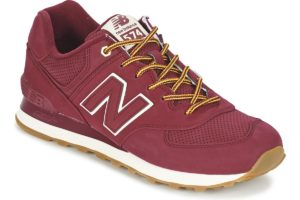 new balance-574-womens-red-ml574hra-red-trainers-womens