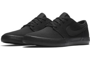 nike-sb solarsoft portmore-mens-black-880268-001-black-trainers-mens