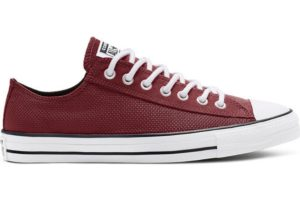 converse-all star ox-womens-burgundy-165336C-burgundy-trainers-womens
