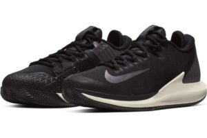 nike-court air zoom-mens-black-aa8017-004-black-trainers-mens