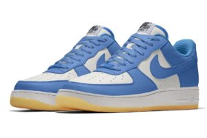 Nike Air Force 1 Id By You Boys Girls Blue Aq3773 992 Blue Trainers Boys Girls