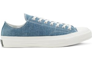 converse-all star ox-womens-blue-165649C-blue-trainers-womens