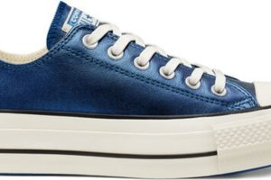 converse-all star ox-womens-blue-565825C-blue-trainers-womens