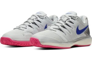 nike-court air zoom-womens-silver-aa8024-004-silver-trainers-womens