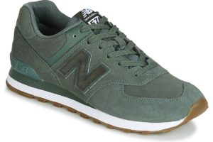 new balance-574-mens-green-ml574nfe-green-trainers-mens