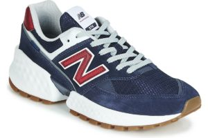 new balance-574-mens-blue-ms574asn-blue-trainers-mens