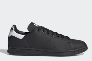 adidas-stan smiths-mens-black-EE5819-black-trainers-mens