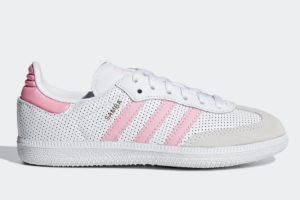 Adidas Sambaen Meisjes,jongens Wit Cg6724 Witte Sneakers Meisjes,jongens