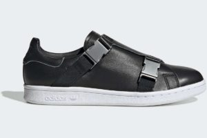adidas-stan smith buckles-womens-black-EE4888-black-trainers-womens
