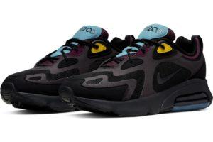 nike-air max 200-mens-black-aq2568-001-black-trainers-mens