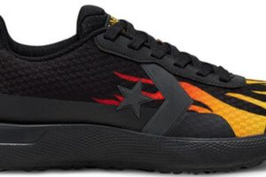 converse-star series-mens-black-166444C-black-trainers-mens