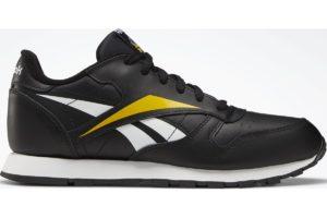 reebok-classic leathers-Kids-black-EF8533-black-trainers-boys
