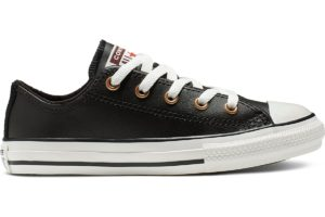 converse-all star ox-womens-black-665117C-black-trainers-womens