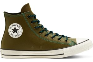 converse-all star high-womens-green-165957C-green-trainers-womens