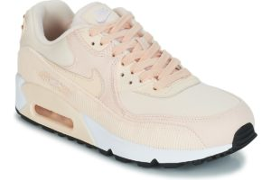 nike-air max 90 leather s (trainers) in-womens-pink-921304-800-pink-trainers-womens