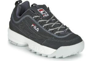 fila-disruptor lows (trainers) in-mens-grey-1010577-7zw-grey-trainers-mens