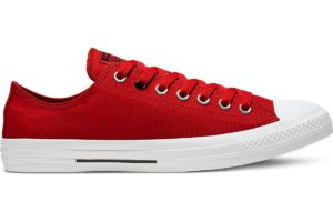 converse-all star ox-womens-red-165739C-red-trainers-womens