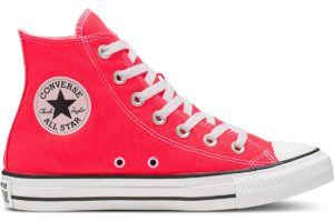 converse-all star high-womens-red-166264C-red-trainers-womens
