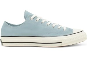 converse-all star ox-womens-blue-166218C-blue-trainers-womens