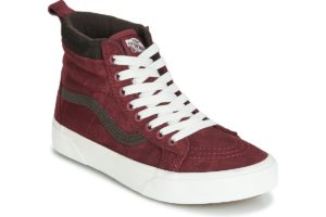 vans-sk8-hi mte s (high-top trainers) in-womens-red-vn0a4bv7xkl1-red-trainers-womens