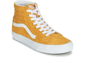 vans-sk8-hi s (high-top trainers) in-womens-yellow-vn0a4bv6v771-yellow-trainers-womens