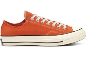 converse-all star ox-womens-orange-166217C-orange-trainers-womens