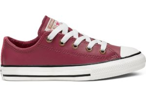 converse-all star ox-womens-brown-665116C-brown-trainers-womens