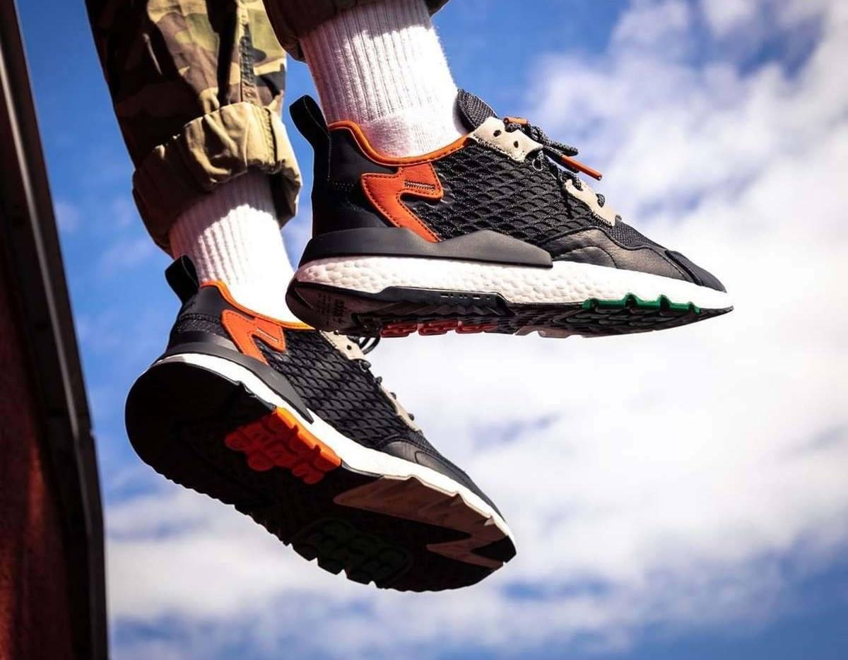 Adidas Nite Jogger Zwart Heren Ee5549 12