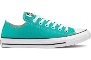converse-all star ox-womens-green-166267C-green-trainers-womens